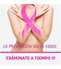 OCTUBRE MES DE LUCHA CONTRA EL CANCER DE MAMAS